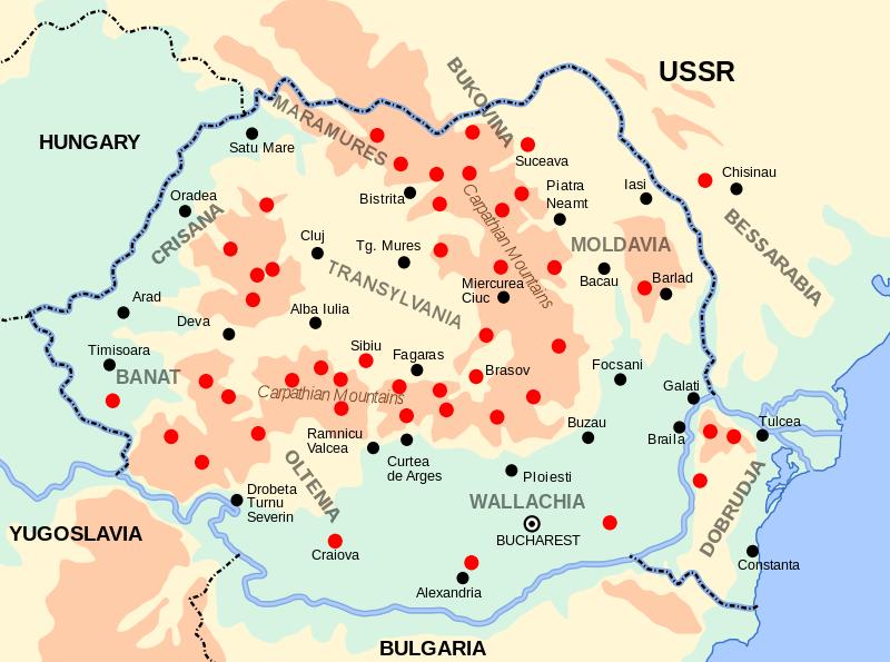 Antikommunista fegyveres ellenállás a II. világháború utáni Romániában