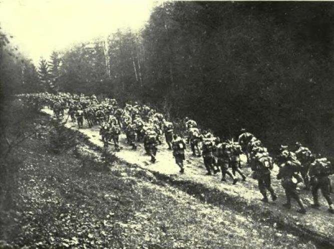 román katonák