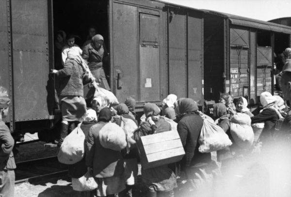 Deportálás a fagyos pokolba, reménytelenségbe