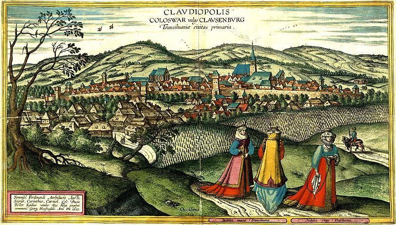 A Gyerőffyek és Kolozsvár. Egy 16. századi malomper