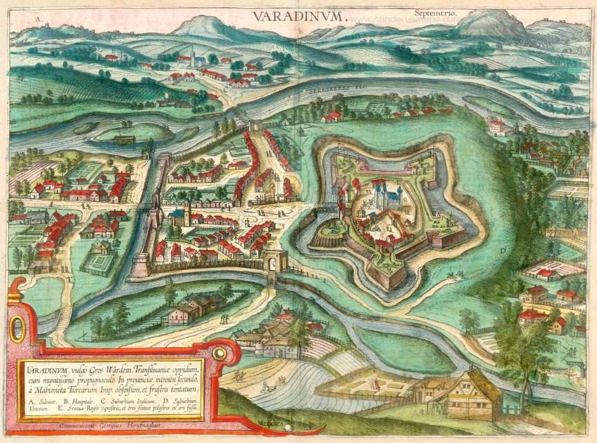 Nagyvárad látképe (1617)
