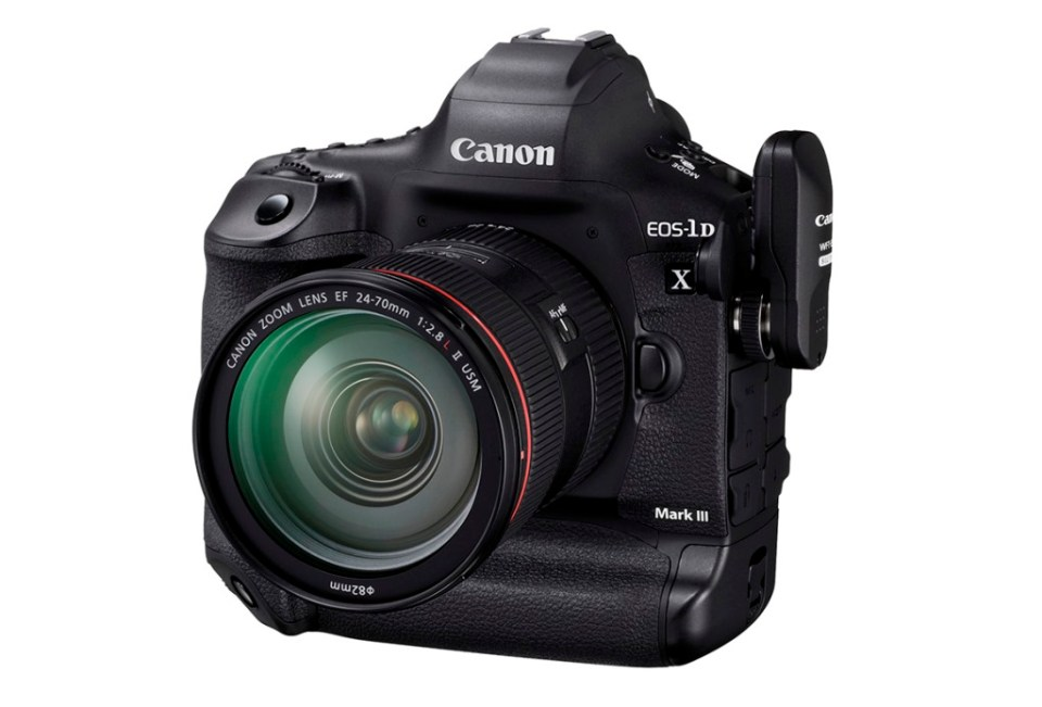 canon 1dx mark 3