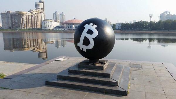 Первый в мире памятник биткоину — в Словении