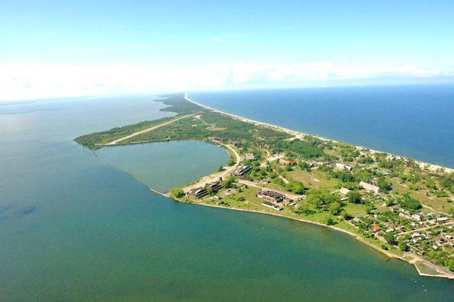 В Калининградском (Вислинском) заливе постоят остров и прокопают канал через Балтийскую косу