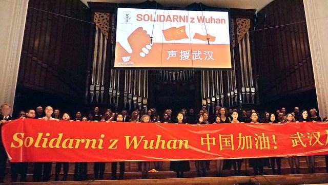 Варшава солидарна с Уханем: вместе мы сильнее