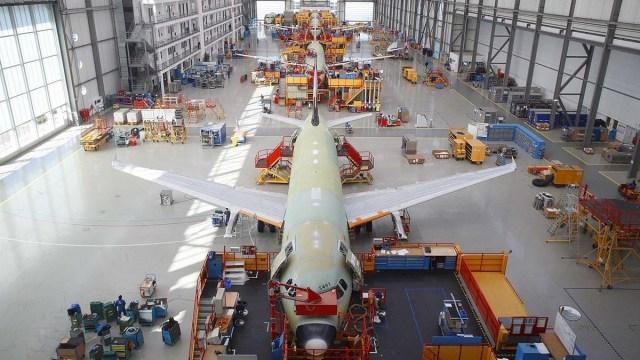 Сокращения в Airbus вызывают протесты профсоюзов