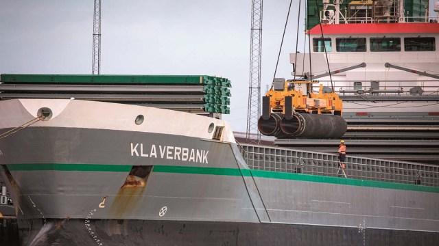 Nord Stream в зоне Германии достроен