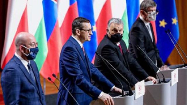 Юбилейный саммит Вышеградской группы в Кракове
