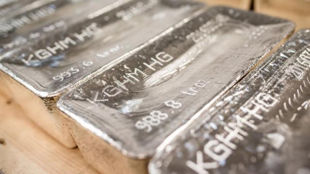 Польский KGHM стал мировым лидером по производству серебра