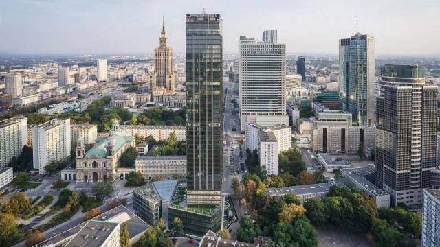 Продаётся один из самых дорогих земельных участков в Варшаве