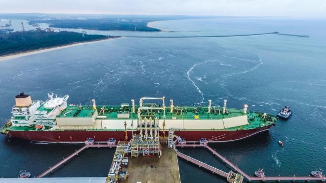 PGNiG наращивает поставки сжиженного газа в Польшу