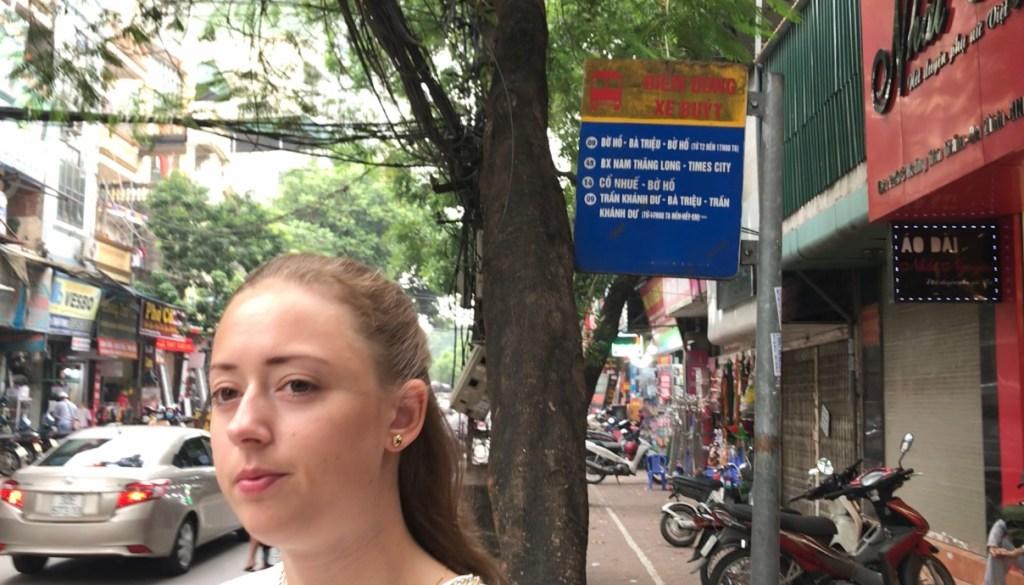 Busstoppested Hanoi