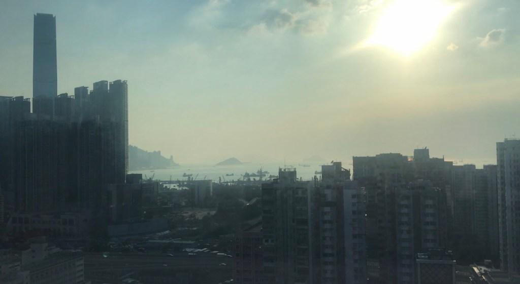 Udsigt hotel i Hong Kong