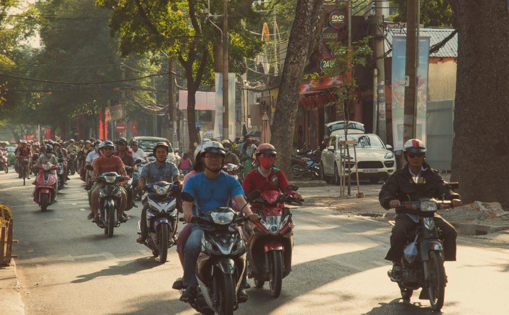 Scootere Hanoi