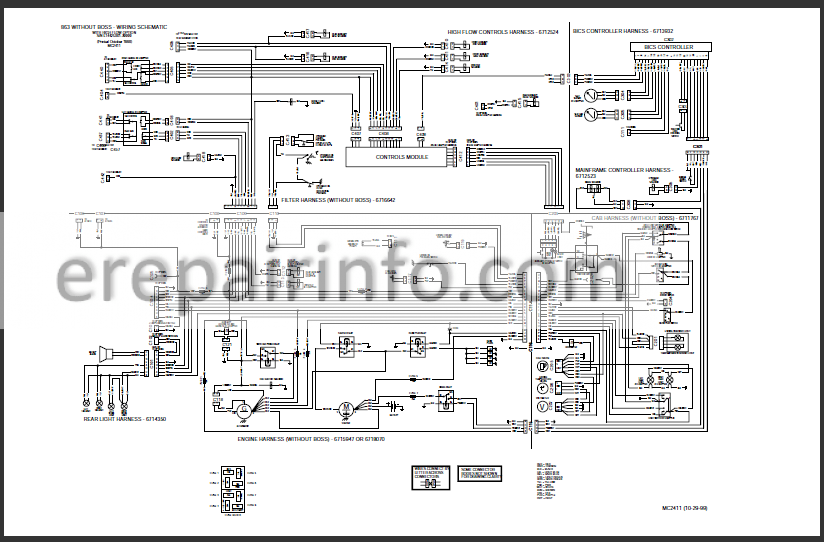 Bobcat 863 Service Repair Manual Skid Steer Loader 6900648 7 10 Erepairinfo Com