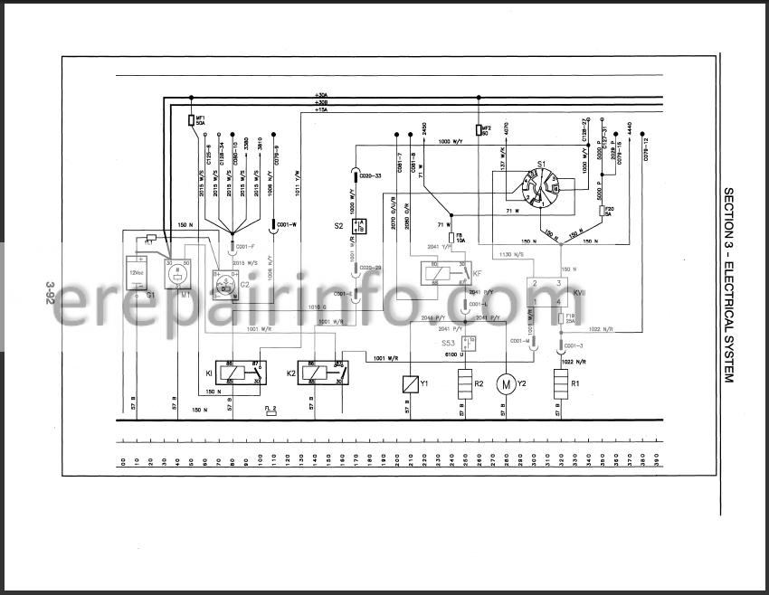 New Holland TS90 TS100 TS110 Repair Manual