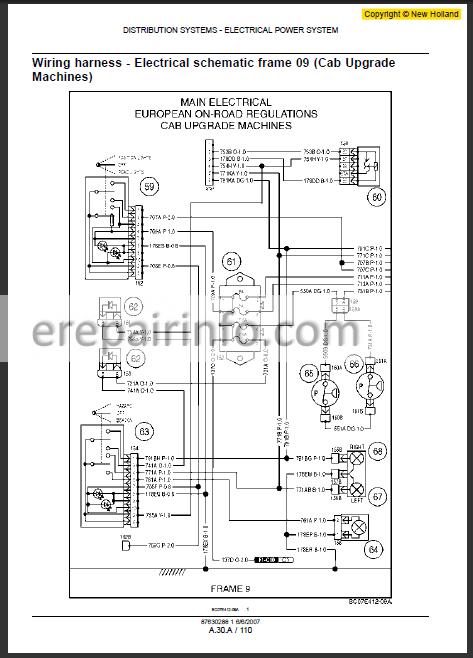New Holland L180 L185 L190 C185 C190 Repair Manual on