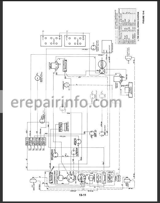New Holland L781 L784 L785 Service Manual Erepairinfo Com