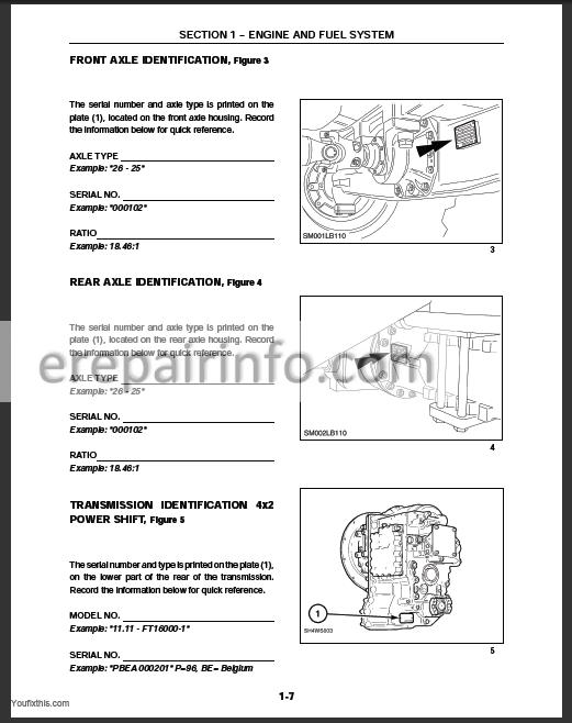 new holland lb115b service manual New Holland LS180 Engine Diagram