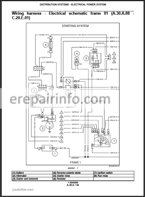 wiring diagram for ls 185 new holland skid steer schema diagram New Holland TN 70 Wiring-Diagram