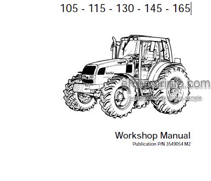 Landini Legend Series Tractor Workshop Manuals