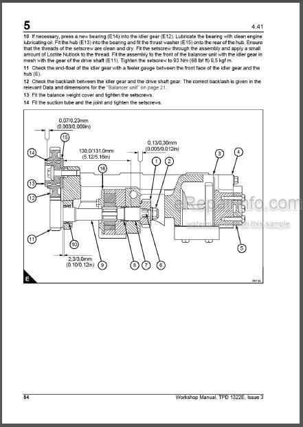 Perkins Diesel Fuel System Diagram : perkins, diesel, system, diagram, Perkins, Series, Model, Workshop, Manual, Diesel, Engine, ERepairInfo.com