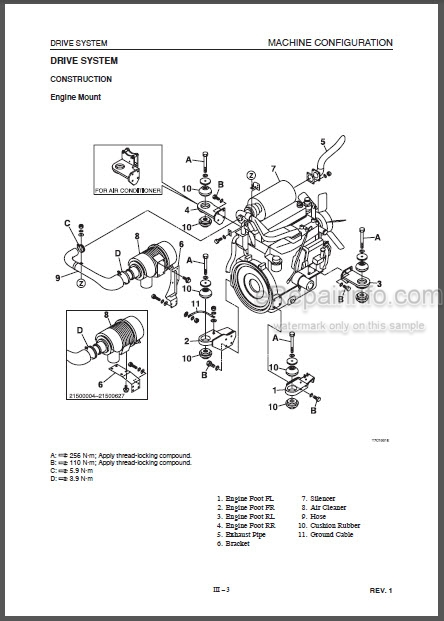 Takeuchi Tl150 Workshop Manual Crawler Loader