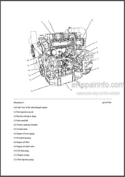 Caterpillar 236B 246B 252B 262B Repair Manual Skid Steer