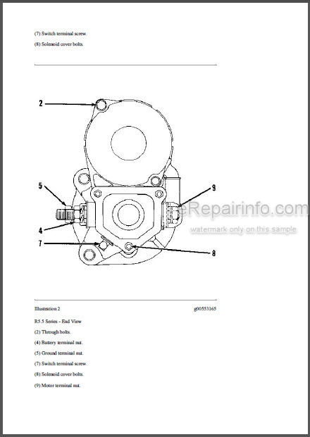 Caterpillar D5C LGP III Series Repair Manual Crawler