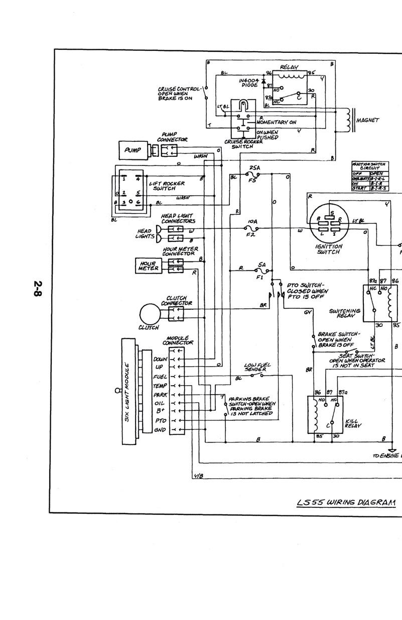 [SCHEMATICS_48DE]  New Holland LS25 LS35 LS45 LS55 Service Manual Yard Tractor 40002551A –  eRepairInfo.com | New Holland Wiring Diagrams |  | eRepairInfo.com