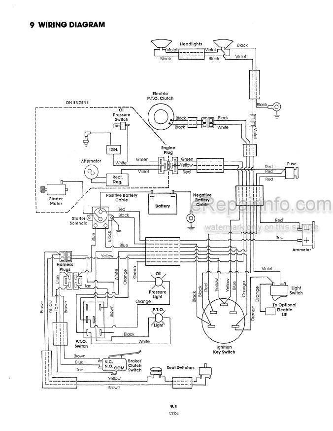 Ford YT16H Operators Manual Yard Tractor 42001616 – eRepairInfo.comeRepairInfo.com