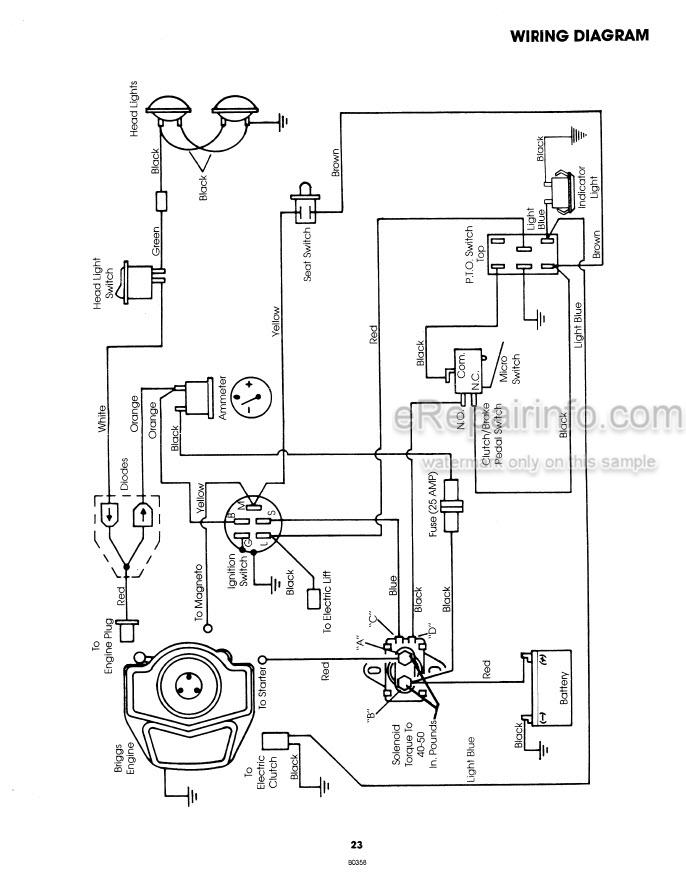 Ford YT16 Operators Manual Yard Tractor 42001610 – eRepairInfo.comeRepairInfo.com