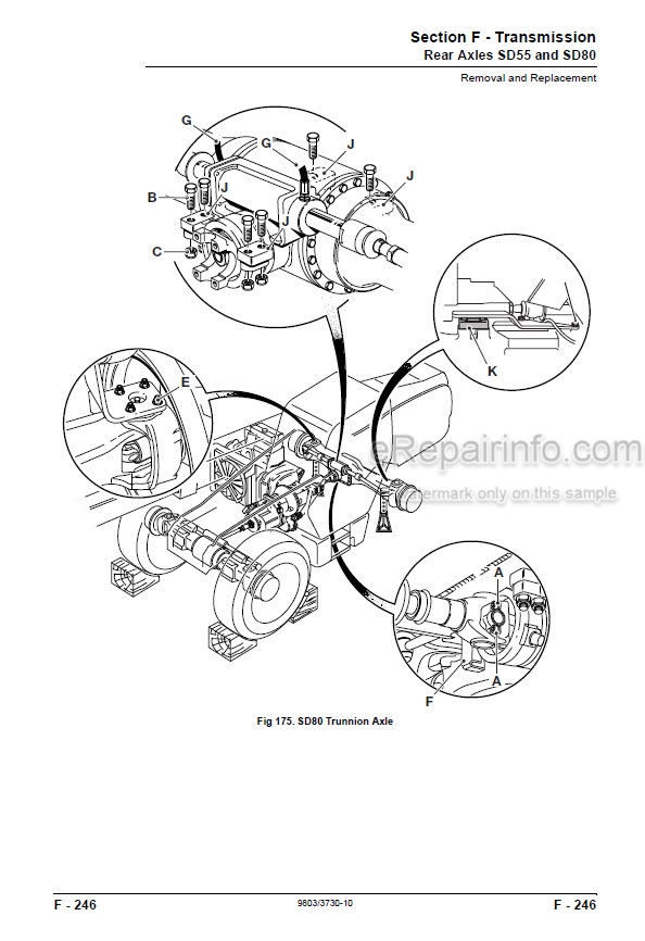 JCB Side Engine Loadall Service Manual Telescopic Handler