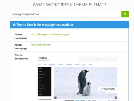 Theme - What WordPress Theme is That