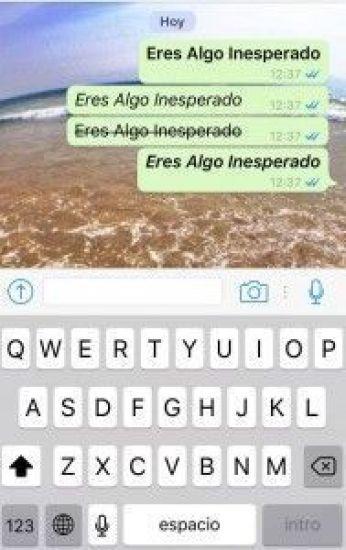 Cursiva y Negrita - WhatsApp