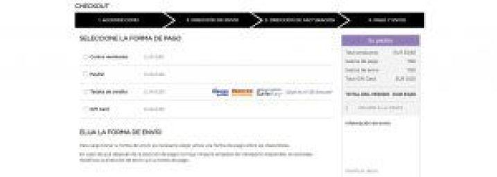 Pago y Envío - Kiko Milano