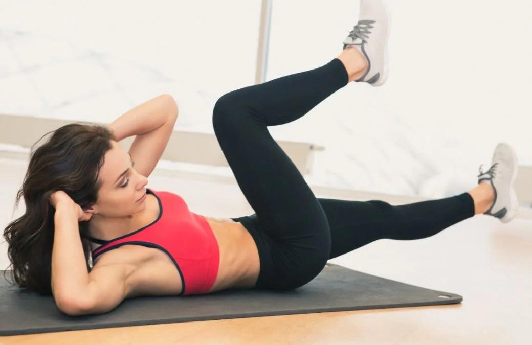Ejercicios abdominales para fortalecer la zona media.