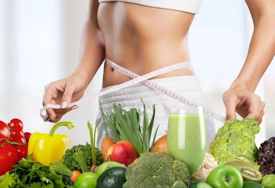 Dieta equilibrada y saludable.
