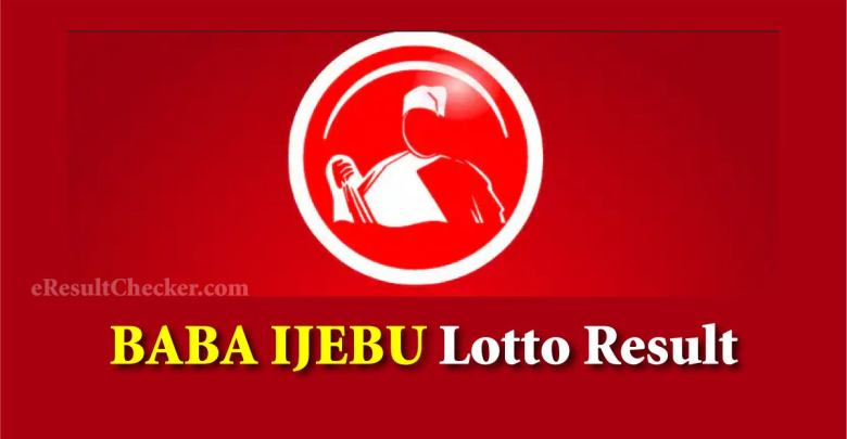 Baba ijebu Lotto result