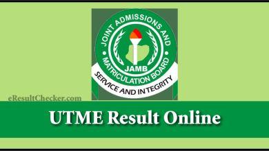 UTME Result 2020