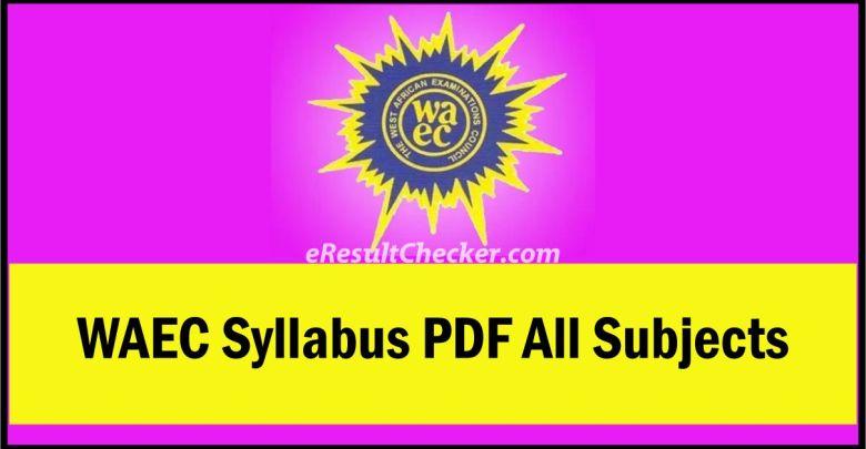 WAEC Syllabus