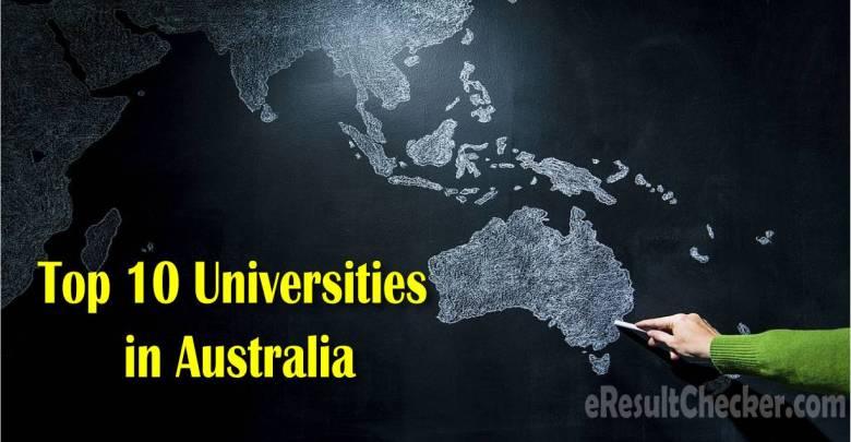 Top 10 Universities in Australia