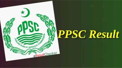 PPSC Result