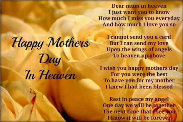 Happy Mothers Day Heaven Image