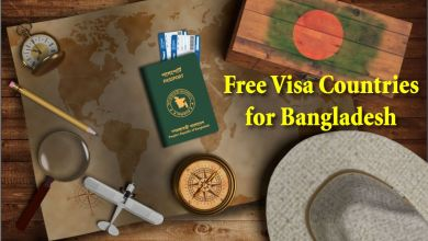 Free Visa Countries for Bangladesh