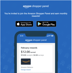 Amazon Shopper Panel – Invite only programme