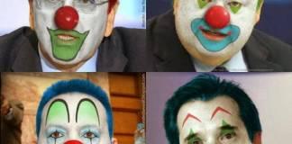Οι μάσκες των πολιτικών τις απόκριες