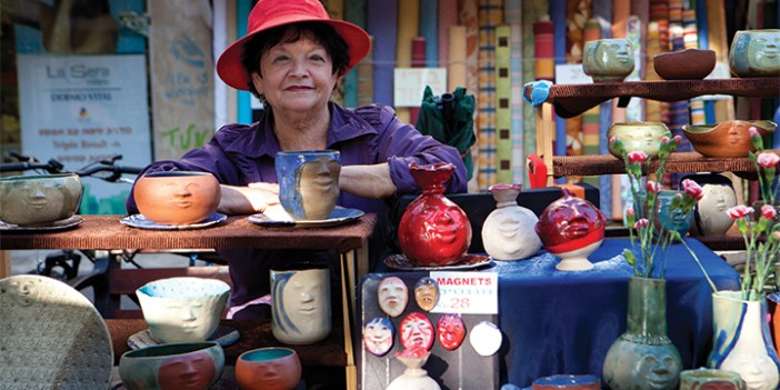 Tel Aviv's many outdoor markets, specializing in everything from spices to produce to clothing, reveal the city's ethnic diversity.