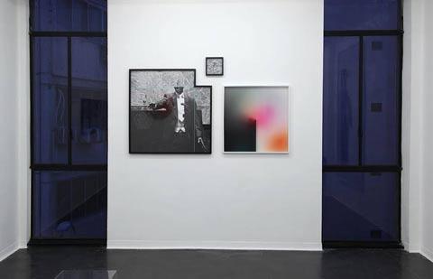 תמיר שר - מראה הצבה בתערוכה