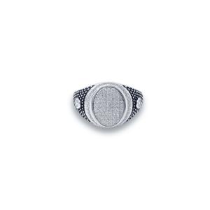 טבעת כסף לגבר- ג'וני